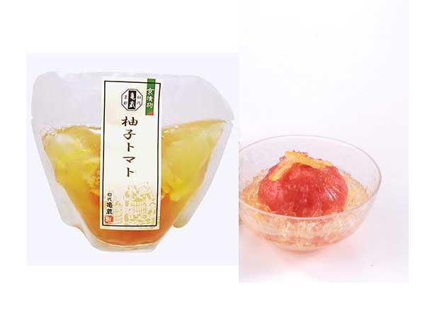 初代亀蔵 柚子とまと