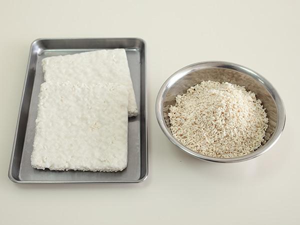乾燥麹と生の米麹