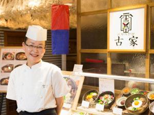 料理長・李 美京(イ・ミキョン)さん