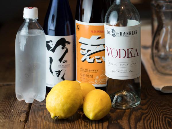 何杯でもいける! 冷凍レモンサワーのレシピ