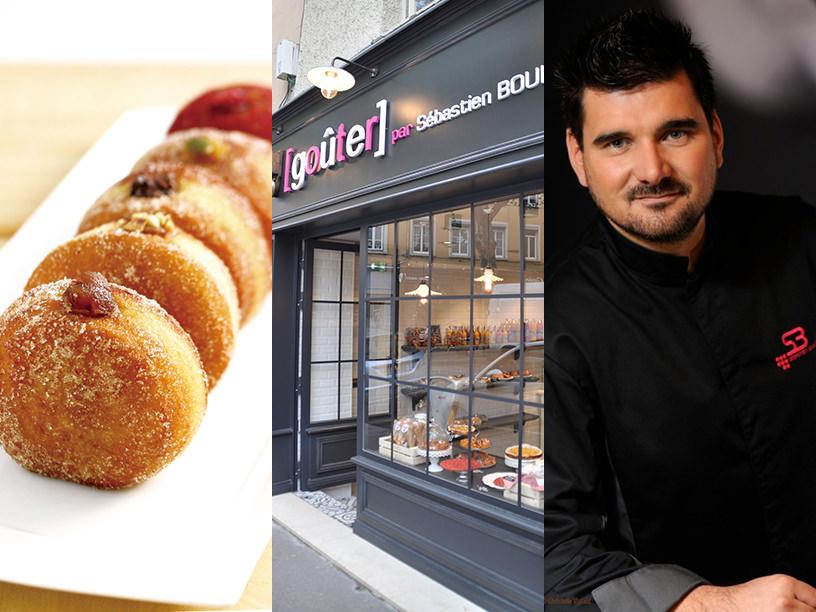 グテのフレンチドーナツとグテのフランスの店舗とセバスチャン・ブイエ氏