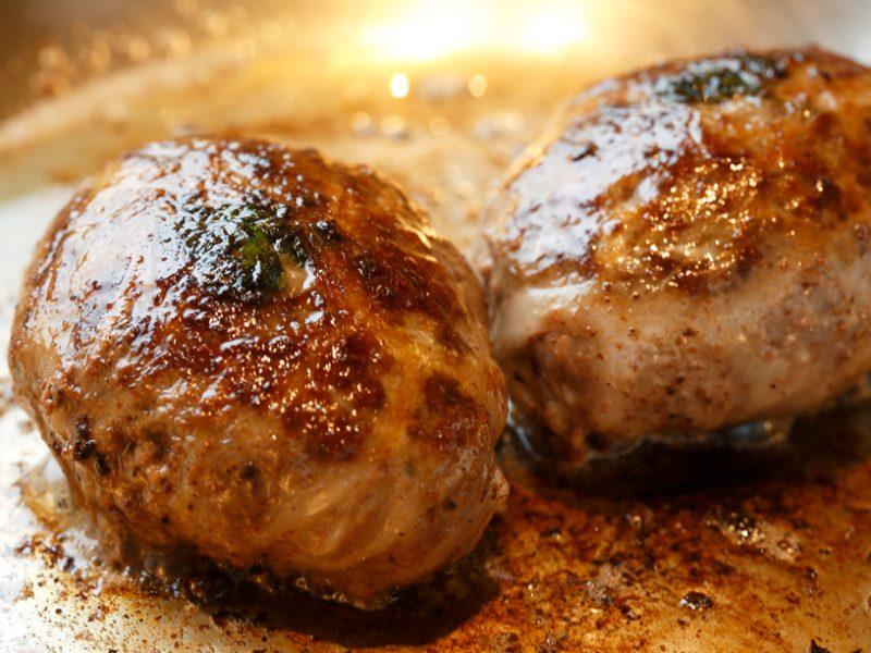 ハンバーグ調理イメージ