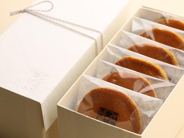 御笠山の味彩(6個入)のパッケージ