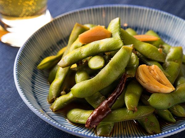 枝豆のピリ辛浅漬けのできあがりイメージ
