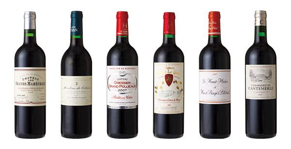 10年熟成飲みくらべ赤ワイン6本セット