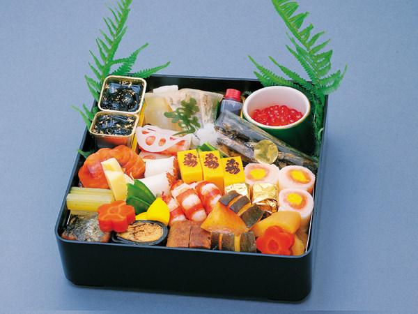 東京吉兆本店の和食一段