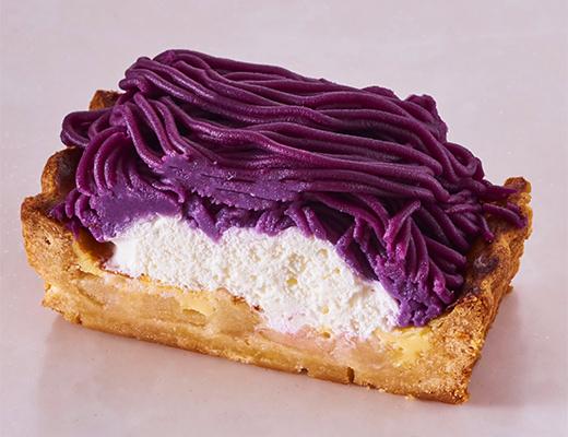 アトリエピロットの紫芋のモンブラン