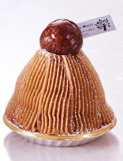 明治記念館 菓乃実の杜の栗のモンブラン