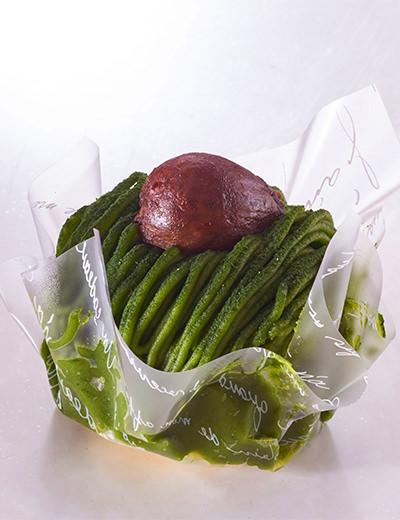 日本茶菓SANOAHのもちもちモンブラン
