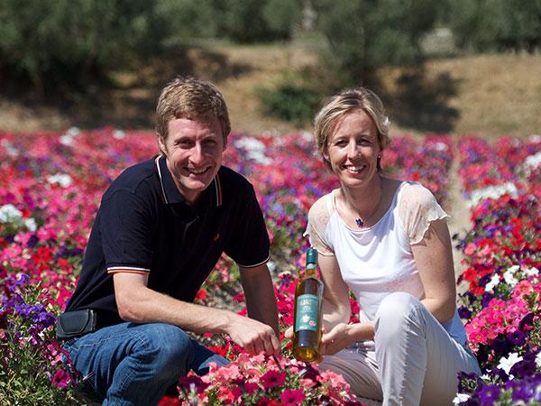 ムーラン・デュ・カランケの創業者、ジルとアンヌ兄妹
