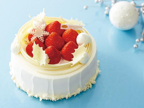 マンダリン オリエンタル 東京のクリスマス ストロベリー ショートケーキ