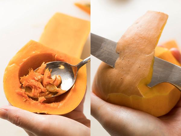 バターナッツ(ひょうたん)かぼちゃで作る!なめらかプリンの
