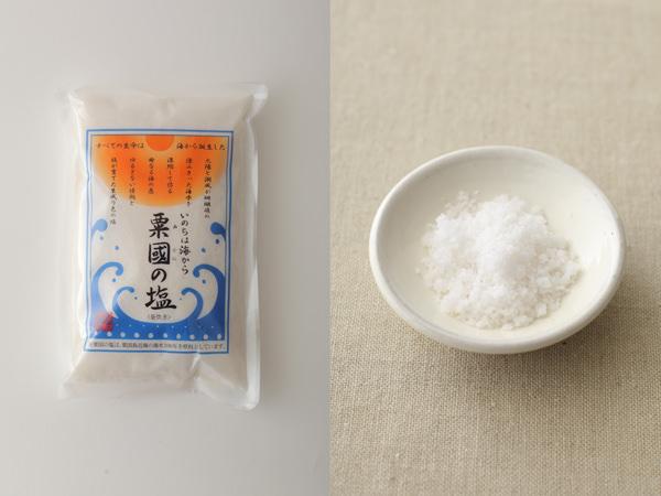 粟国の塩パッケージ、粟国の塩中身