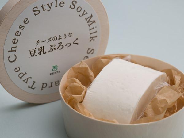 チーズのような豆乳ぶろっく