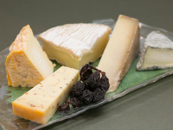 フロマジュリーHISADAのグルメのチーズプラトー