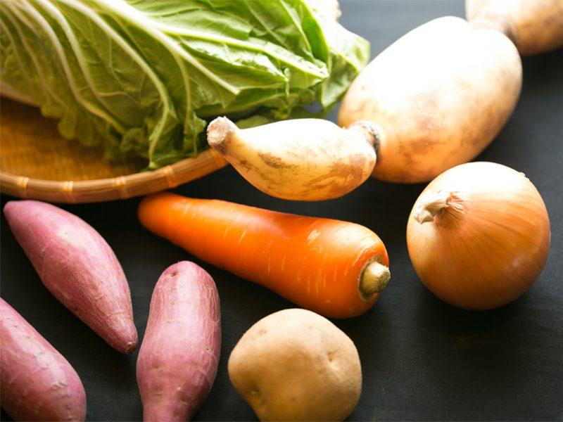 根菜の集合