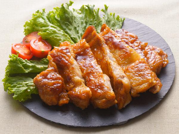 鶏照り焼きの完成