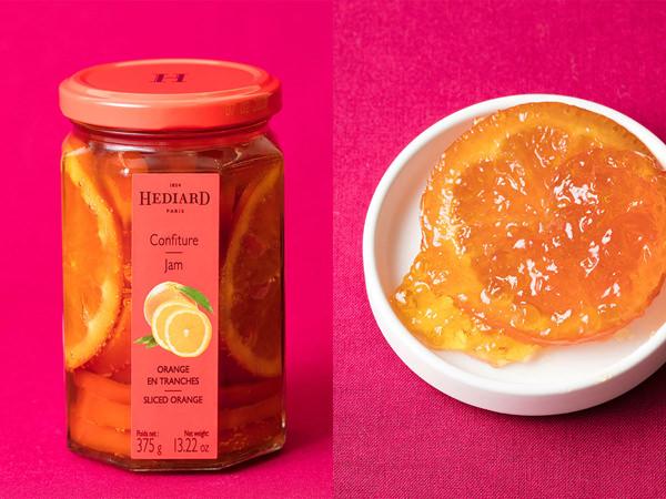 <エディアール>スライスオレンジ 1瓶(375g) 2,376円(税込)