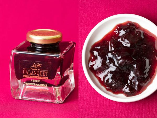 ムーラン・デュ・カランケのさくらんぼとバルサミコ酢のコンフィチュール