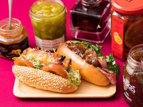 肉やサラダが美味しくなる、料理に使えるジャムのイメージ