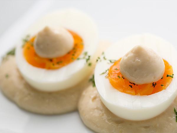 和TaRuをかけたゆで卵
