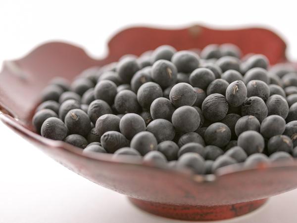 丹波黒大豆の生豆