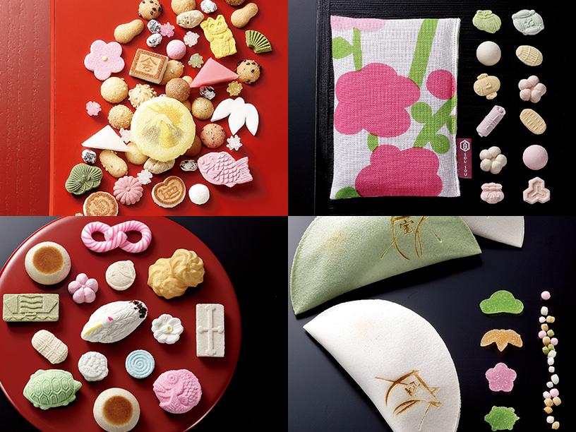 縁起物モチーフ菓子のイメージ