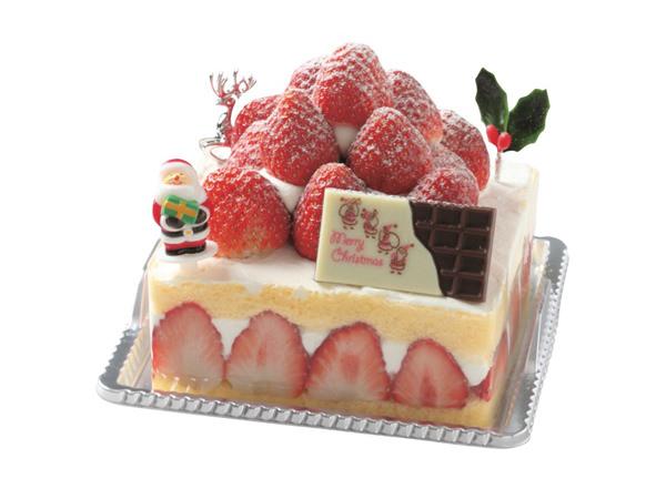 アトリエ ピロットのとちおとめのショートケーキクリスマスグランデ
