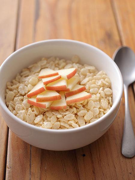 日本食品製造玄米フレーク てんさい糖とほんのり林檎の味に