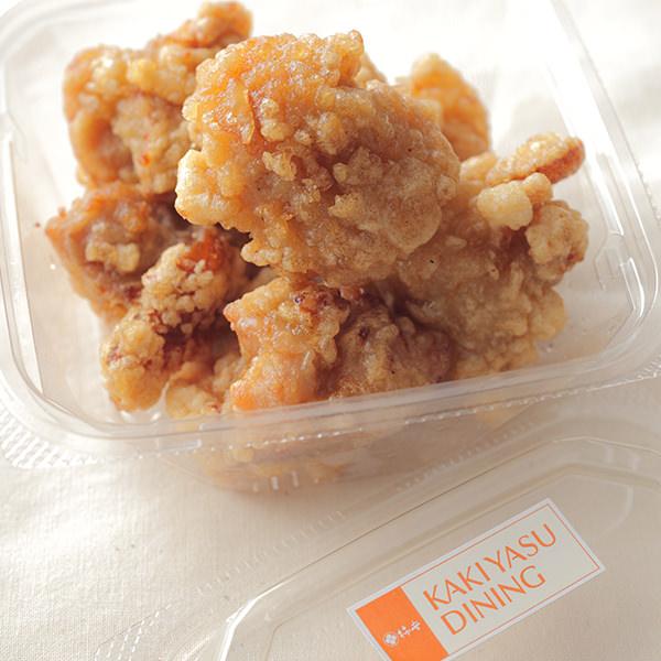 柿安ダイニングの鶏もも肉の唐揚げ