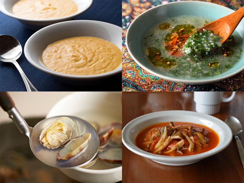 さまざまなスープのイメージ