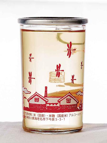泉橋酒造のいづみ橋 とんぼの夕焼けカップ