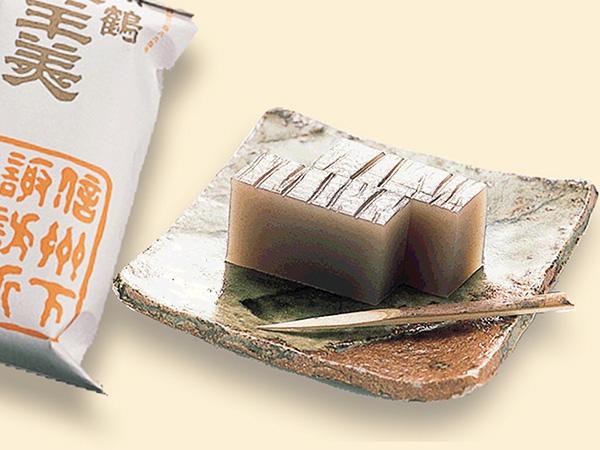 新鶴本店の塩羊羹のイメージ