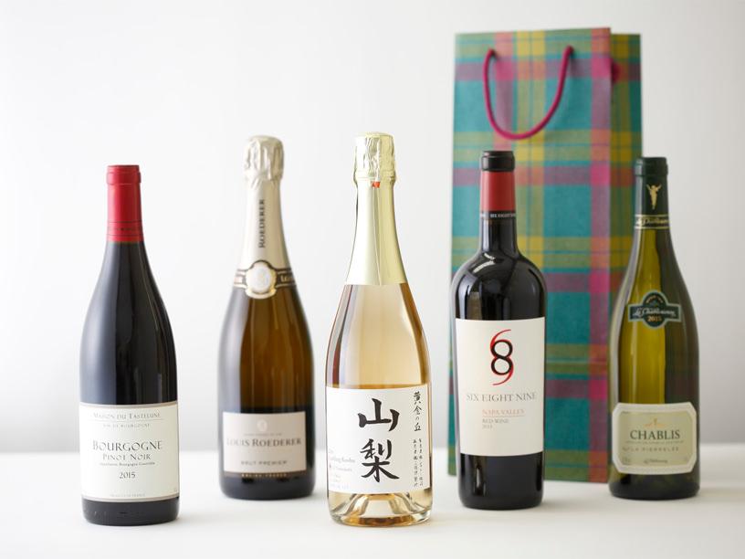 伊勢丹新宿店で売れているワインのイメージ