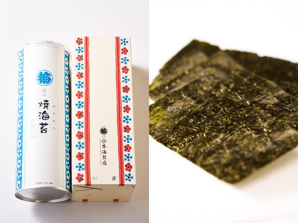 山本海苔店の食膳の友 銘々焼海苔 大缶
