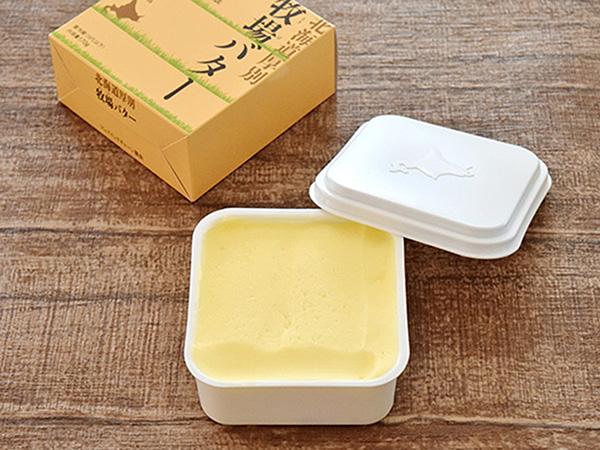 新札幌乳業の北海道厚別牧場バター