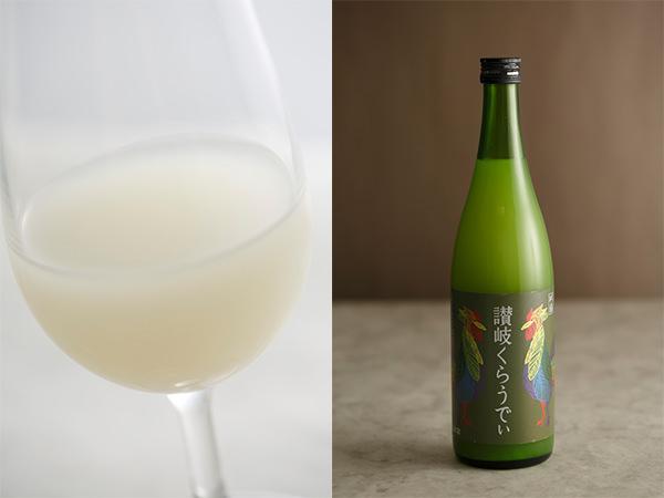 川鶴酒造の讃岐くらうでぃの中身と瓶