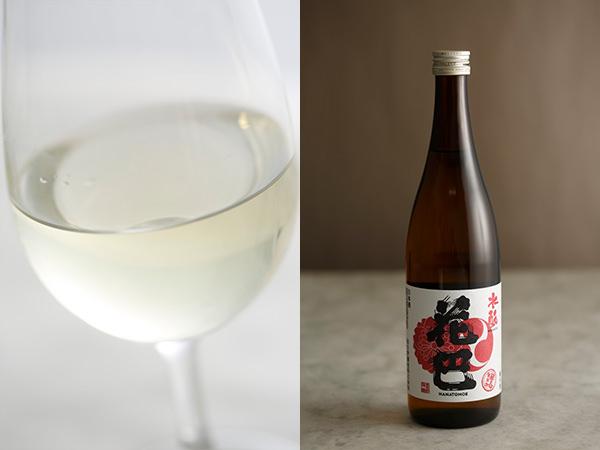 美吉野醸造の花巴 水酛の中身と瓶