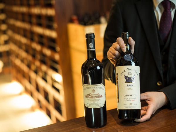 25年のヴィンテージワインと50年のヴィンテージワイン
