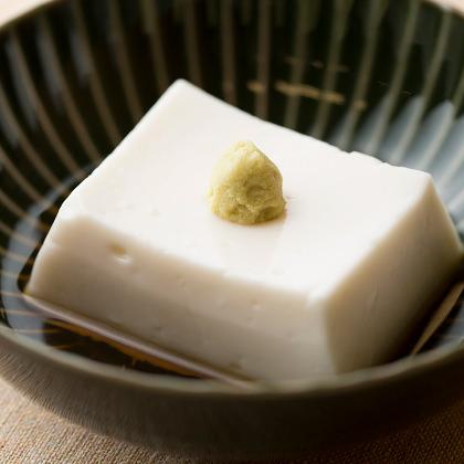 東京 吉兆の胡麻豆腐