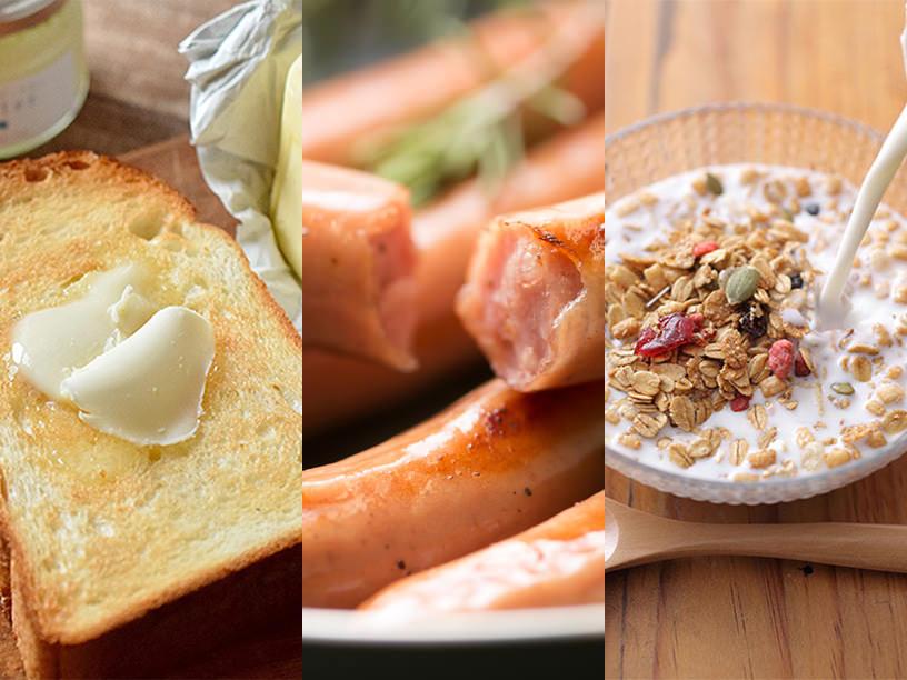 洋食朝ごはんのアイテムのイメージ