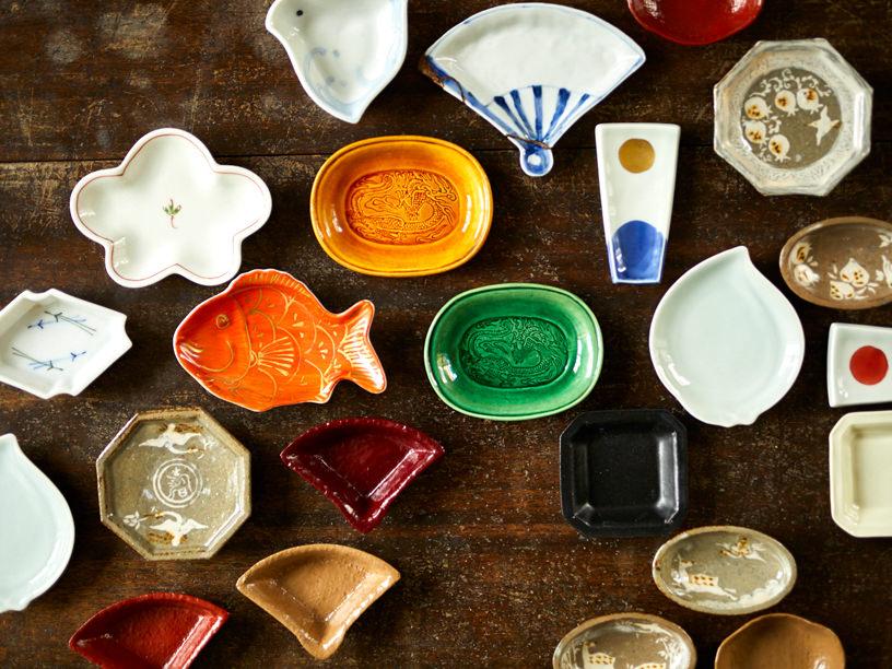 豆皿の集合