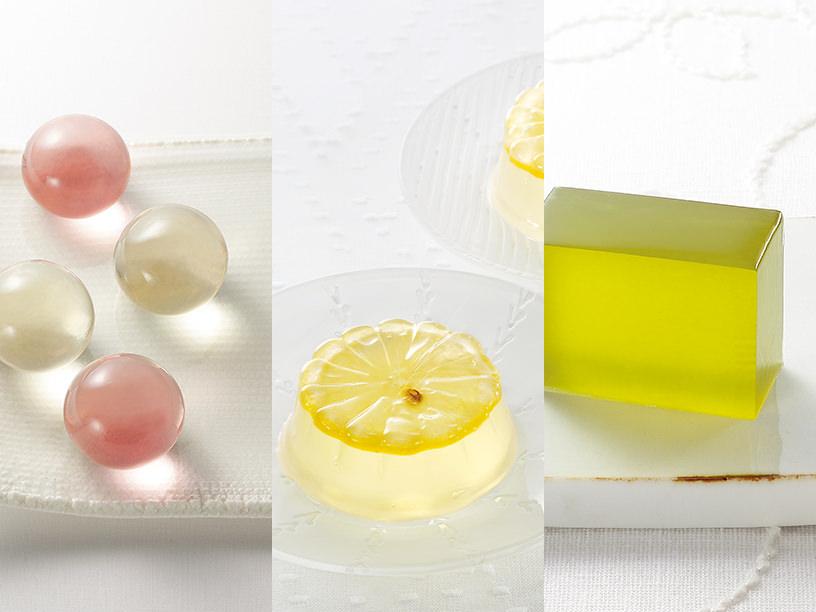 半透明のお菓子のイメージ