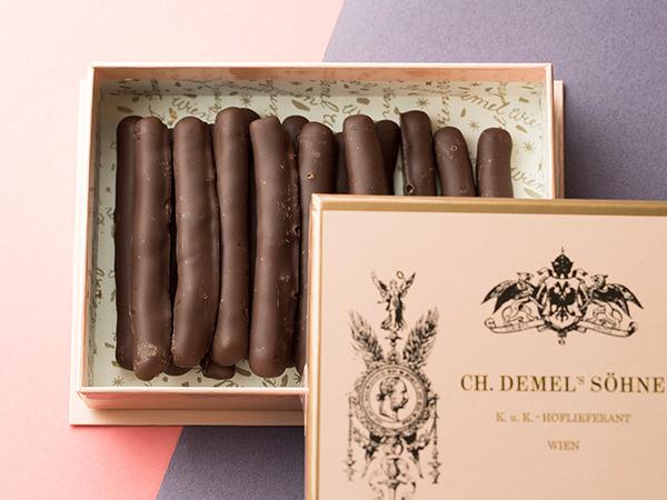 <デメル>オレンジピール チョコレート(16本入り) 2,160円(税込)