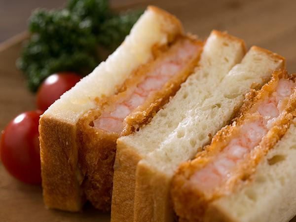 イッツ サンドイッチ マジックのぷりっとエビカツサンド