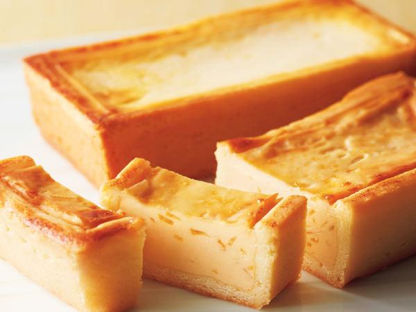 資生堂パーラーの手焼きチーズケーキセット