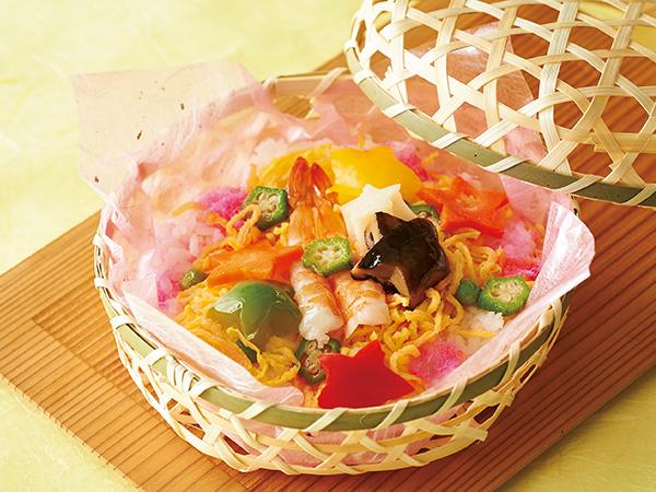 美濃吉の七夕五色彩りちらし寿司