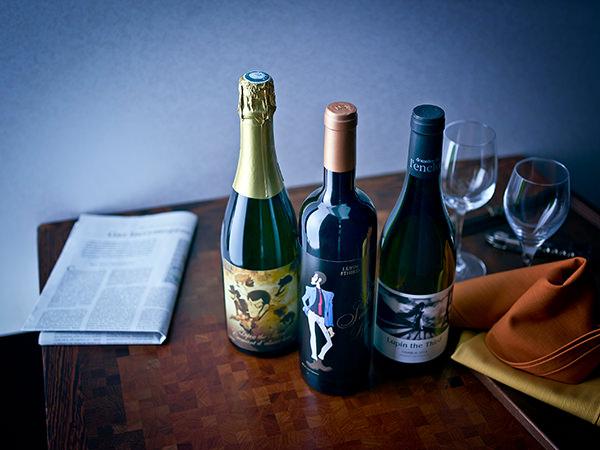 ルパン三世オリジナルフランスワイン パート5限定ラベル