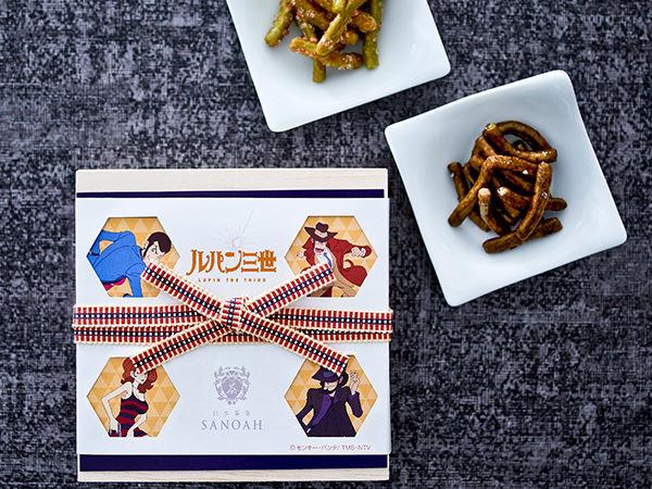 日本茶菓SANOAHの緑茶かりんとう詰め合わせ