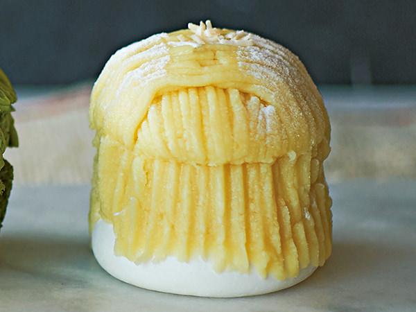 アンジェリーナのココナッツミルクモンブラン